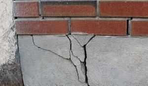 Image result for images of settling foundation