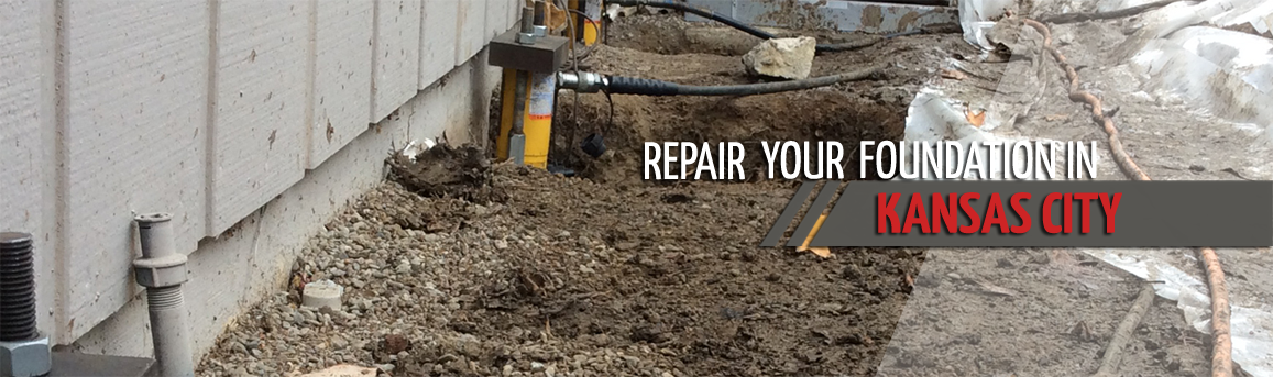foundation repair and basement waterproofing in kansas city