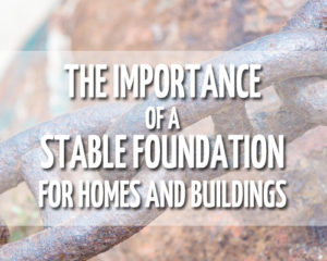 strong, stable foundations KS MO