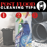 Flood cleaning tips