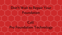 don't wait to repair your foundation